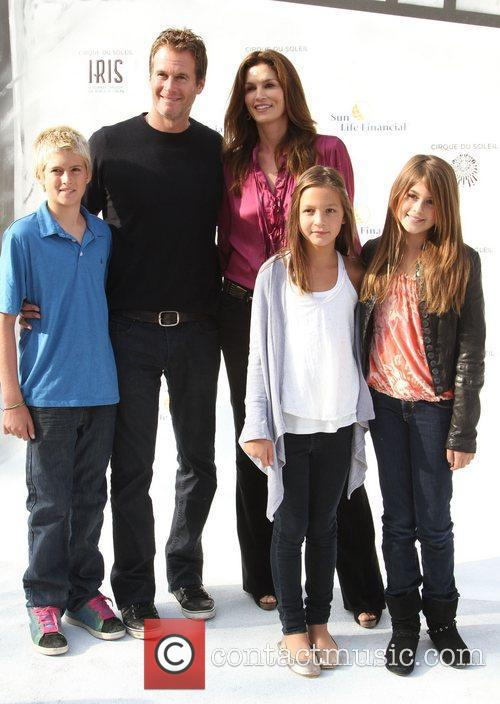 Rande Gerber, Cindy Crawford and Family Premiere of...