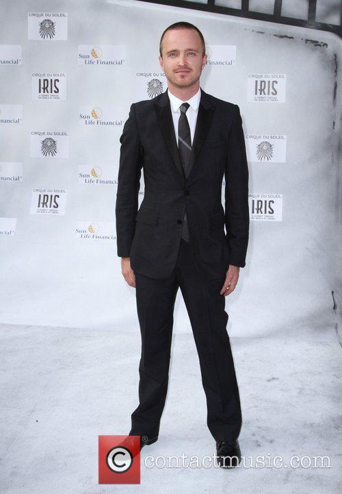 Aaron Paul Premiere of Iris - A Journey...