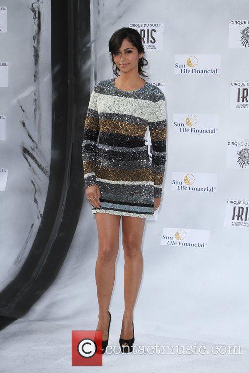 Camila Alves Premiere of Iris - A Journey...