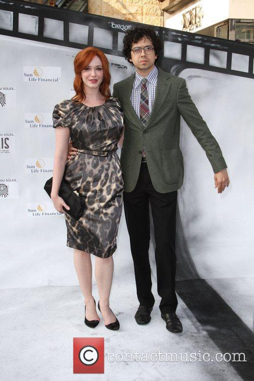 Christina Hendricks, Geoffrey Arend and Kodak Theatre 2