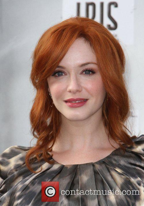 Christina Hendricks and Kodak Theatre 3