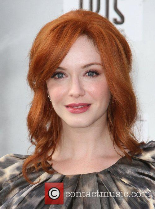 Christina Hendricks and Kodak Theatre 4