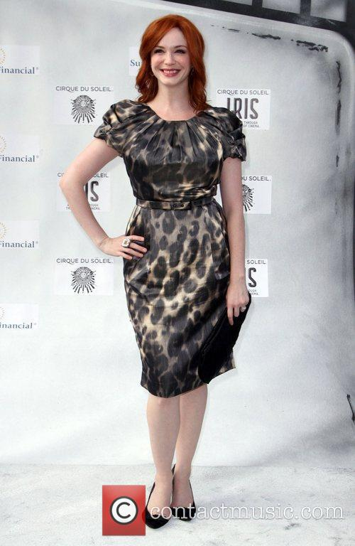 Christina Hendricks and Kodak Theatre 1