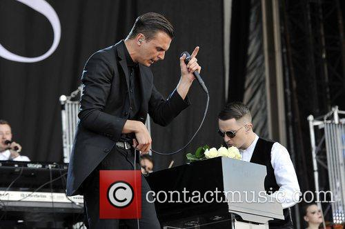 Hurts and Isle of Wight Festival 12