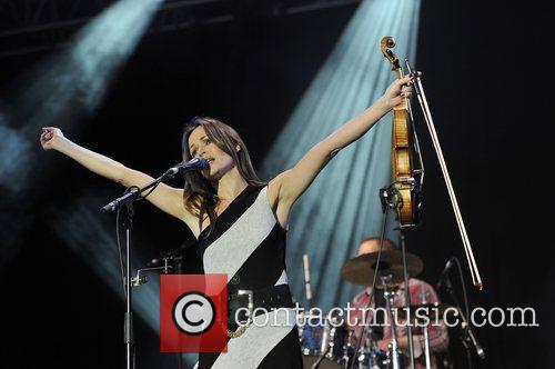 Sharon Corr and Isle Of Wight Festival 2