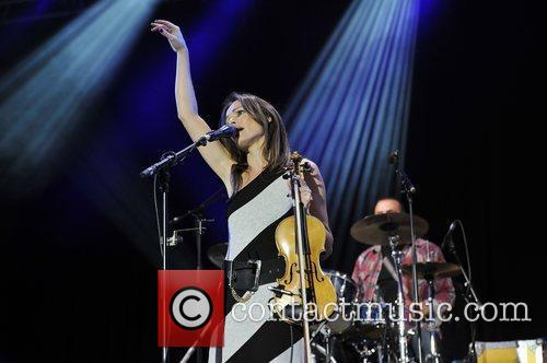 Sharon Corr and Isle Of Wight Festival 11