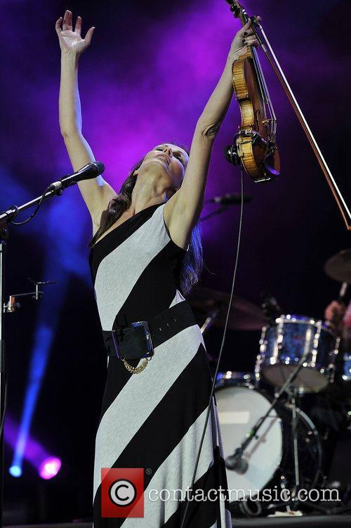 Sharon Corr and Isle Of Wight Festival 9