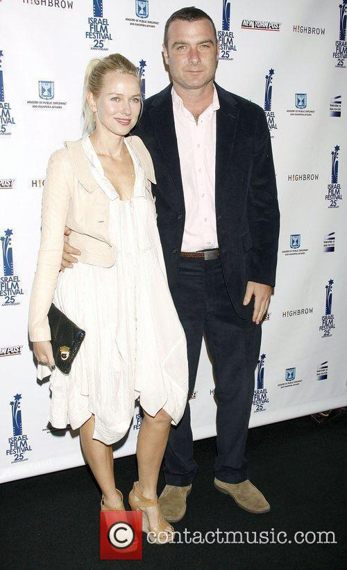 Naomi Watts and Liev Schreiber  The 25th...