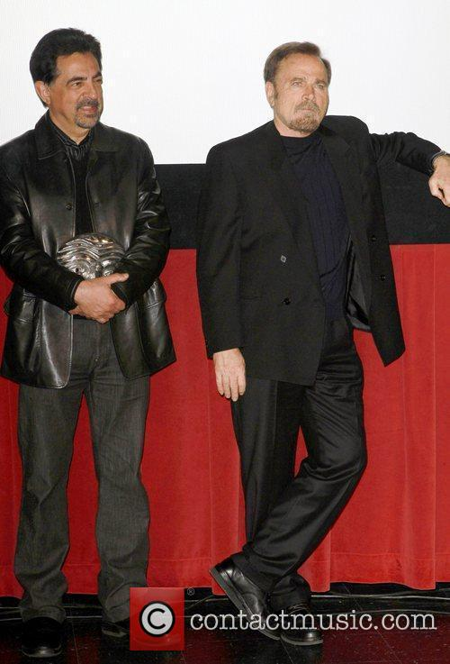Joe Mantegna, Franco Nero and Mann 7