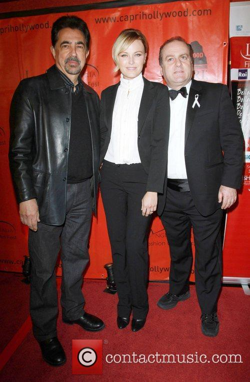 Joe Mantegna, Malin Akerman and Mann 8