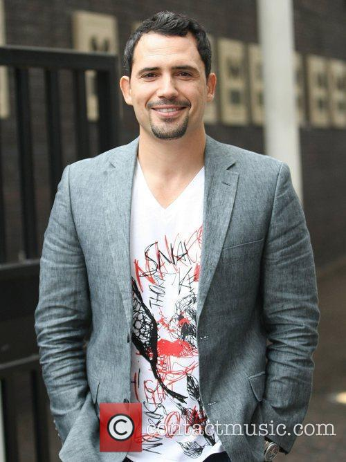 Dhaffer L'Abidine at the ITV studios London, England