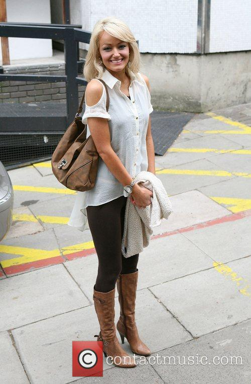 Hayley Roberts at the ITV studios London, England