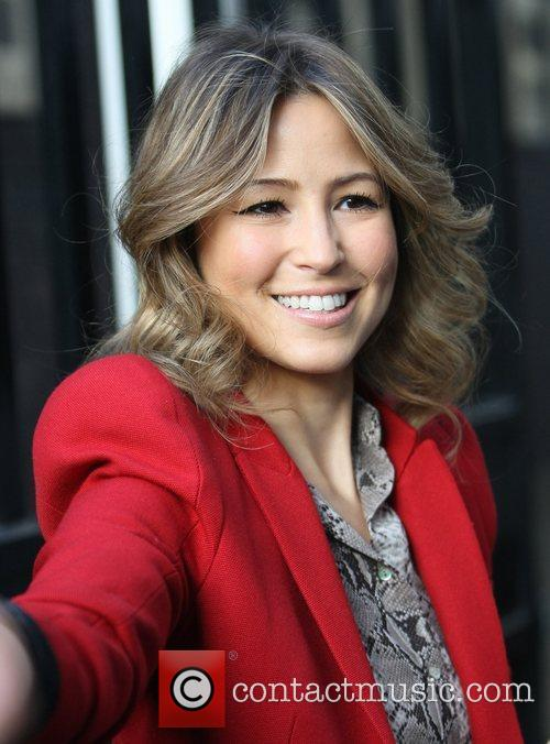 Rachel Stevens at the ITV studios London, England