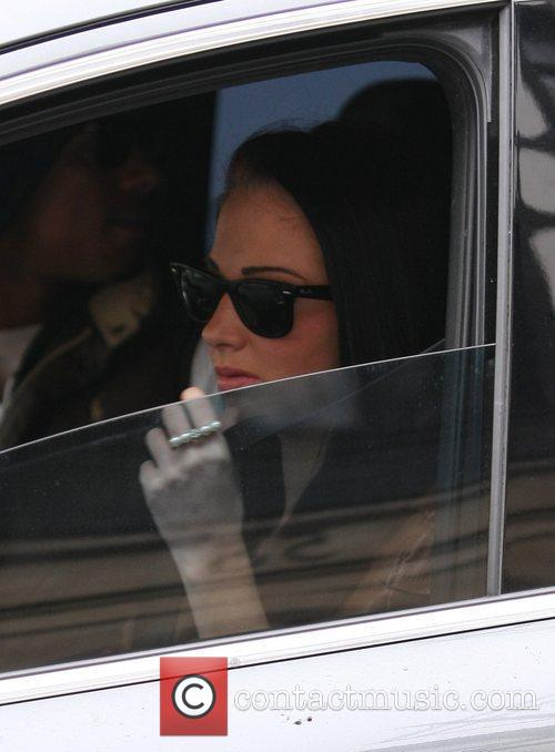 Tulisa Contostavlos at the ITV studios London, England