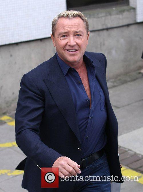 Michael Flatley Celebrities outside the ITV television studios...