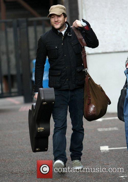 Matt Cardle at the ITV studios London, England