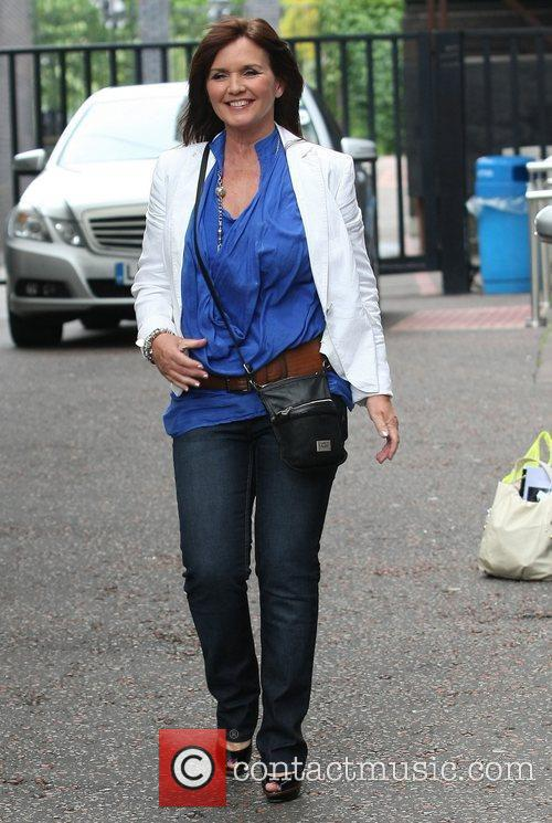 Maureen Nolan leaves the ITV studios London, England