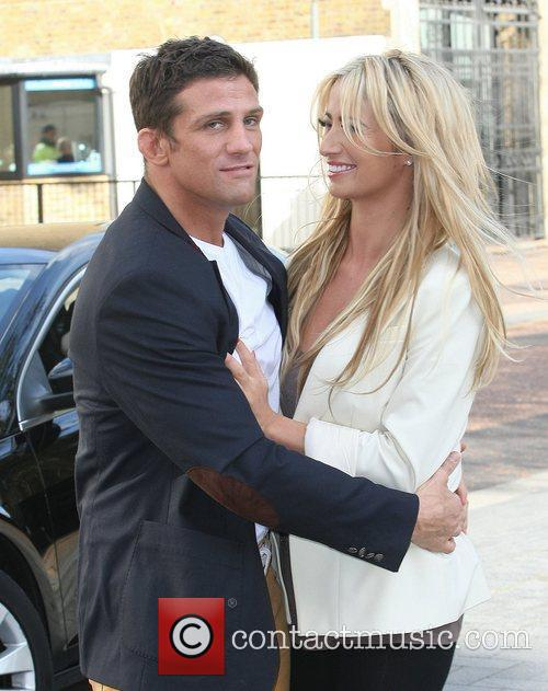 Alex Reid and Chantelle Houghton at the ITV...