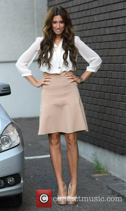 Stacey Solomon outside the ITV studios London, England
