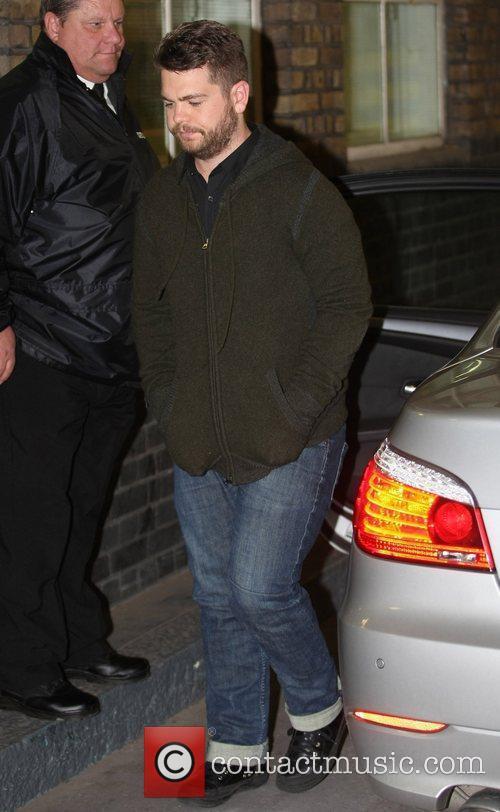 Jack Osbourne outside the ITV studios London, England