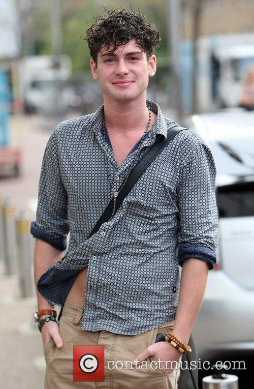 'X Factor' finalist James Michael outside the ITV...