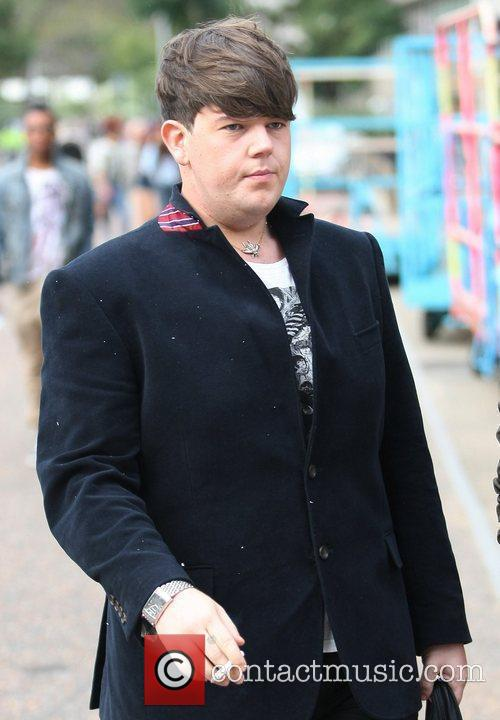'X Factor' finalist Craig Colton outside the ITV...