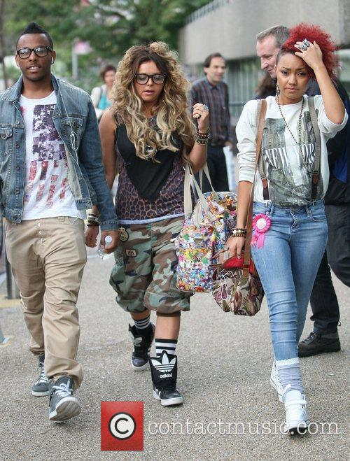 'X Factor' finalists Ashford Campbell, Jesy Nelson and...
