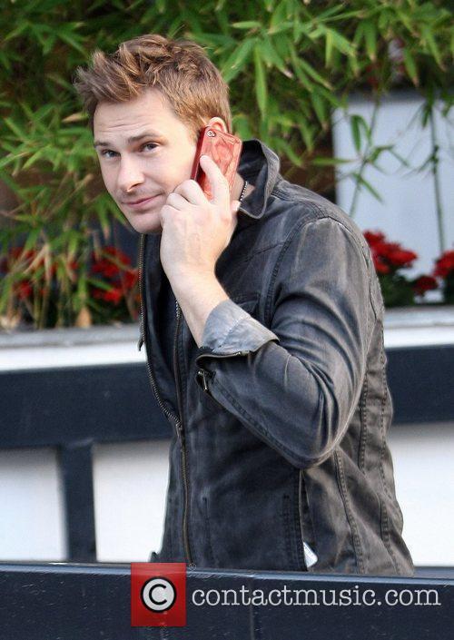Lee Ryan Celebrities outside the ITV television studios...