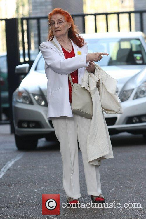 Ann Timson at the ITV studios London, England