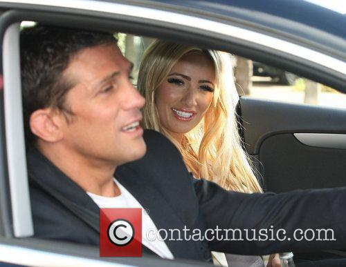Chantelle Houghton and Alex Reid at the ITV...