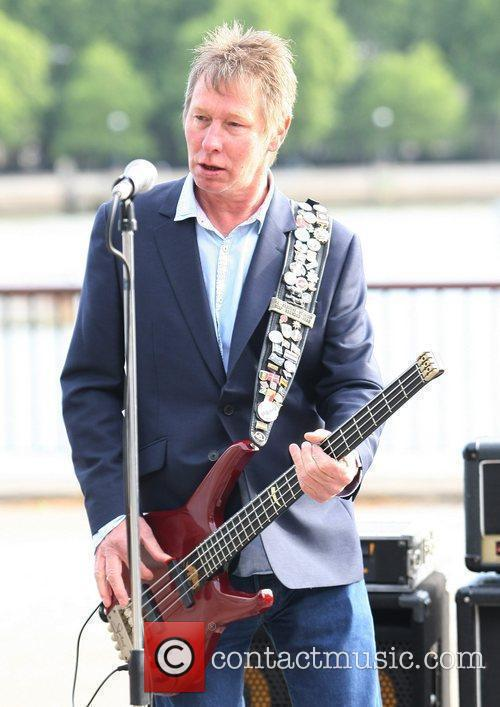 Status Quo perform live on the South Bank...