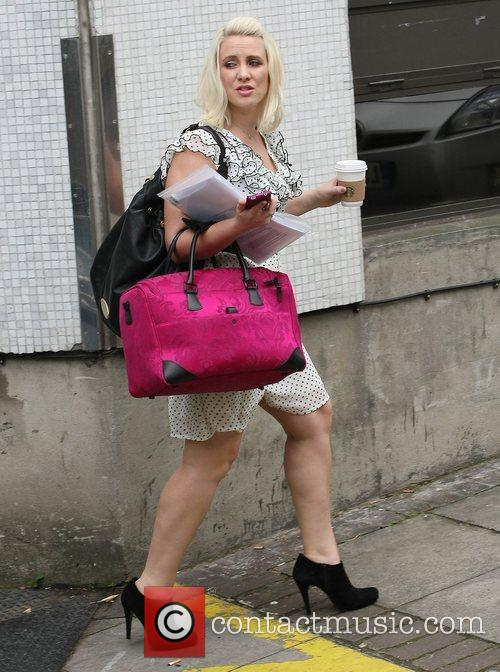 Claire Richards at the ITV studios London, England