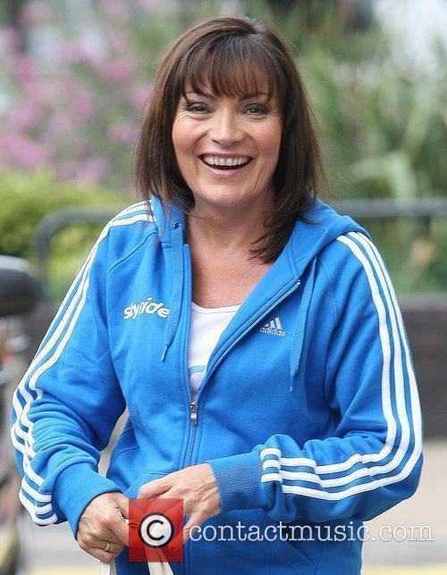 Lorraine Kelly at the ITV studios London, England