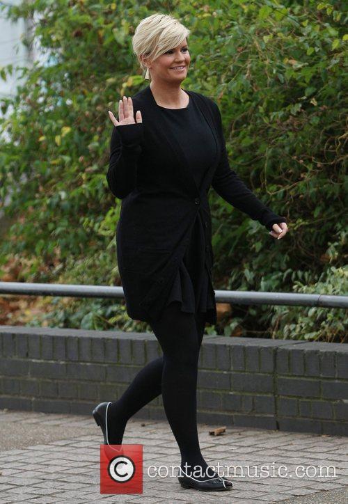 Kerry Katona at the ITV studios London, England