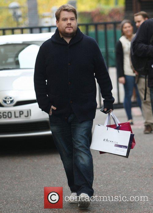 James Corden at the ITV studios London, England