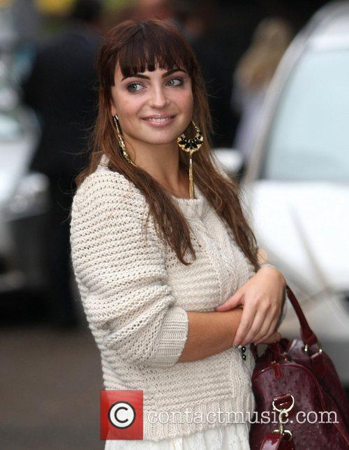 Sophie Habibis at the ITV studios London, England