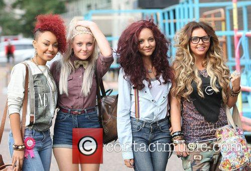 Leigh-Anne Pinnock, Perrie Edwards, Jade Thirwell and Jesy...