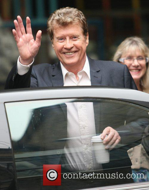 Michael Crawford outside the ITV studios London, England