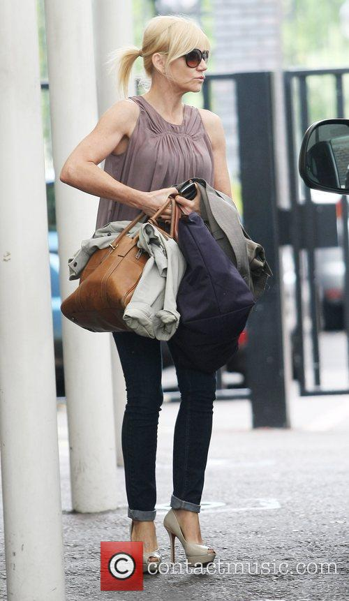 Michelle Collins at the ITV studios London, England