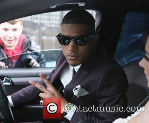 Fazer aka Richard Rawson at the ITV studios...