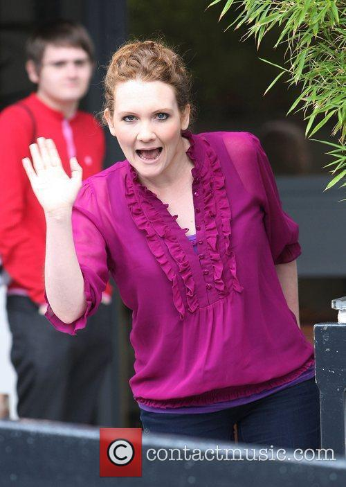 Jennie McAlpine at the ITV studios London, England