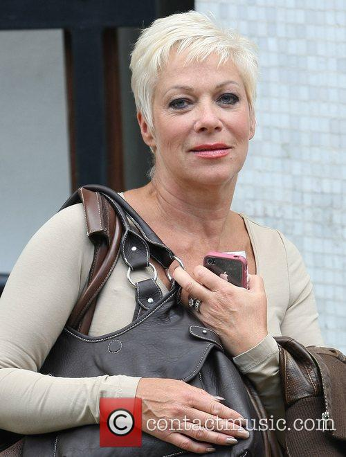 Denise Welch leaves the ITV studios London, England