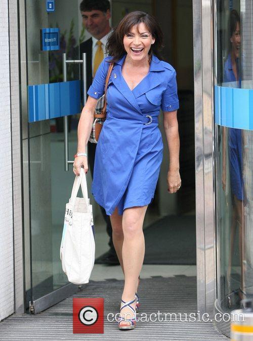 Lorraine Kelly Celebrities outside the ITV Studios London,...