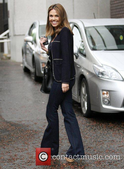 Adele Silva at the ITV studios London, England
