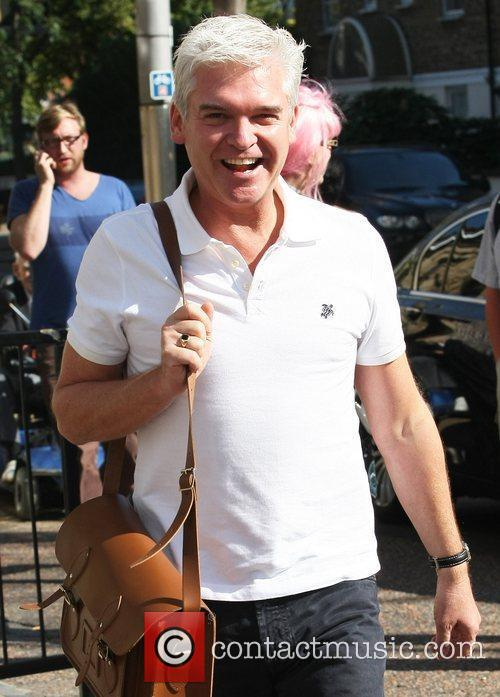 Phillip Schofield at the ITV studios London, England