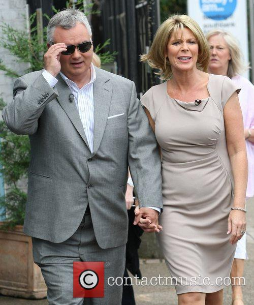 Eamonn Holmes and Ruth Langsford Celebrities outside the...