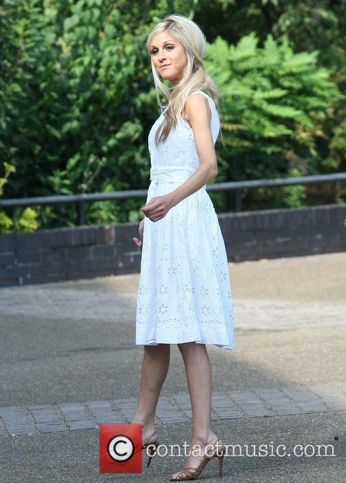 Nikki Grahame Celebrities outside the ITV studios London,...