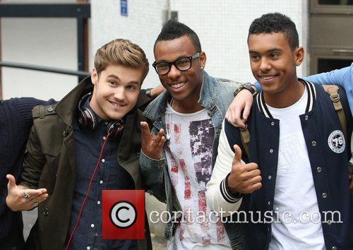 'X Factor' finalists Stefan Romer, Jordan Higo and...
