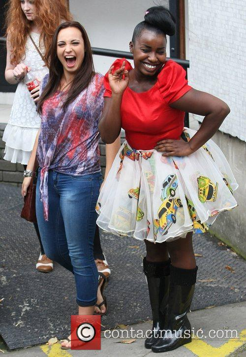 'X Factor' finalists Sophie Habibis and Misha Bryan...