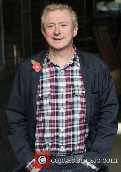 Louis Walsh at the ITV studios London, England